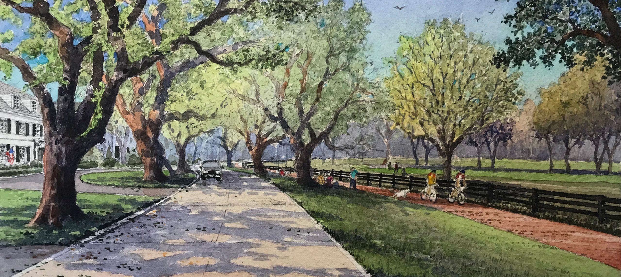 The Preserve Watercolor