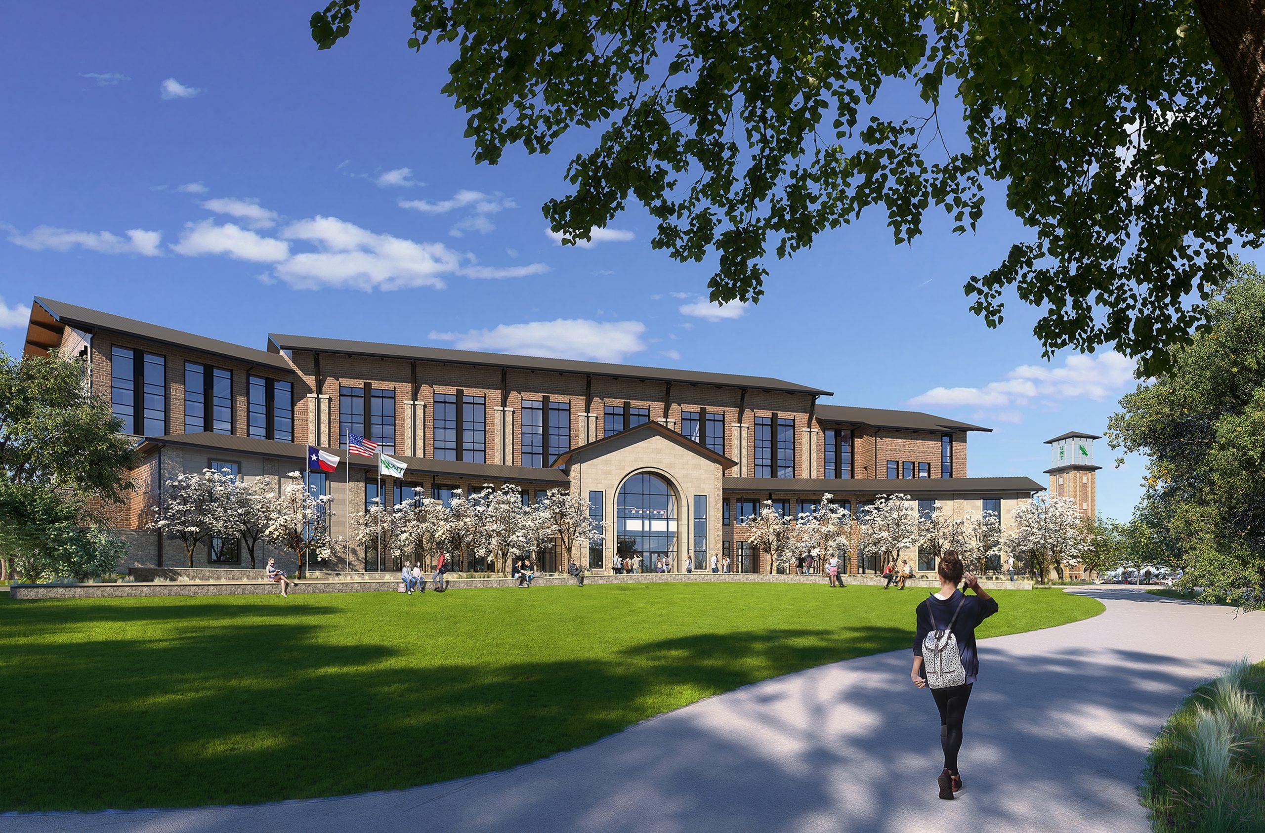 UNT at Frisco branch campus rendering